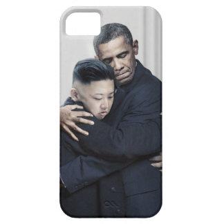 Obama Kim Jong Un North Korea Love iPhone 5 Case