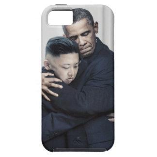 Obama Kim Jong Un North Korea Love iPhone 5 Covers
