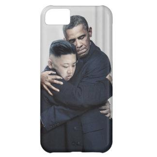 Obama Kim Jong Un North Korea Love iPhone 5C Cases