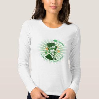 O'Bama - Kiss me, I'm Democratish Tee Shirt