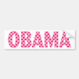 Obama Kisses Bumper Sticker