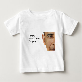 Obama Knows Best Baby T-Shirt