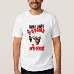 Obama la camiseta de Anti-Cristo Polera
