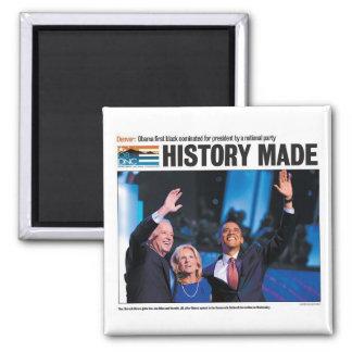 Obama: La historia hizo el imán