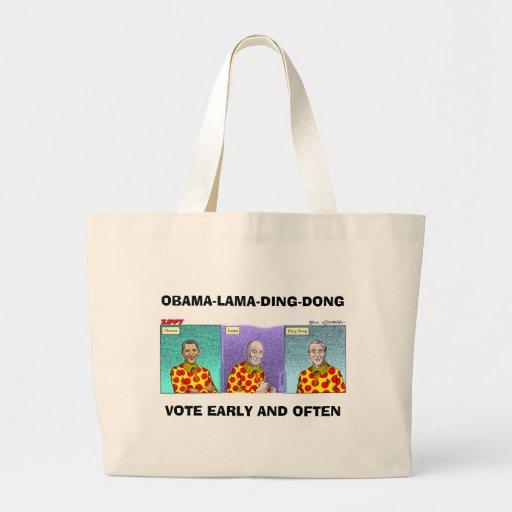 ¡Obama-Lama-Tilín-Dong! Bolsa De Mano