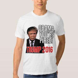 Obama le encienden, Donald Trump para el Polera