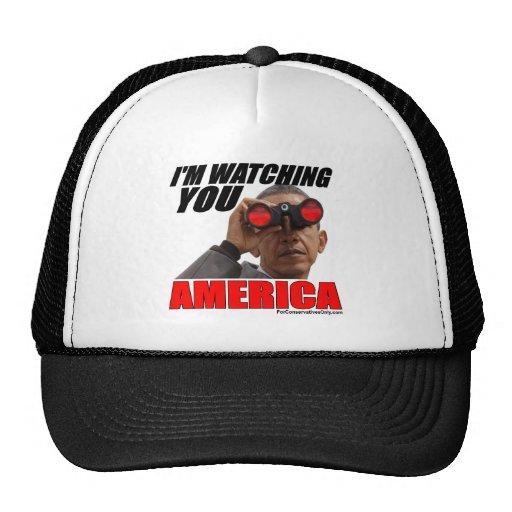 Obama - le estoy mirando América Gorras De Camionero