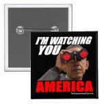 Obama - le estoy mirando América Pin