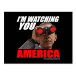 Obama - le estoy mirando América Postales