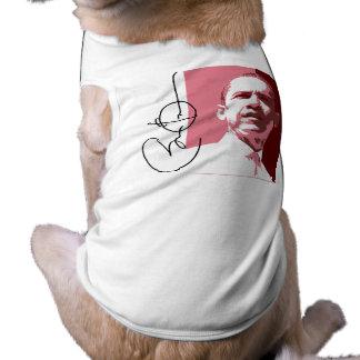 OBAMA LEADERSHIP RED.png Dog T Shirt