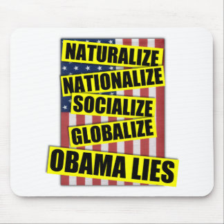 Obama Lies Mouse Pad