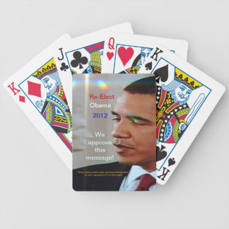 Obama, Lincoln, cruz brillante aprueba este mensaj Cartas De Juego