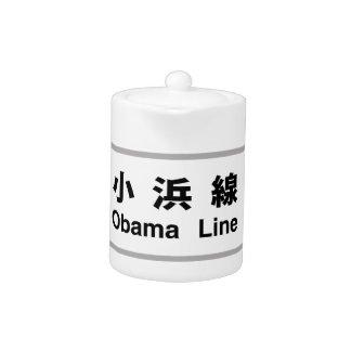 Obama Line, Railway Sign, Japan