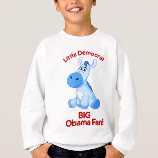 Obama little Democrat Sweatshirt