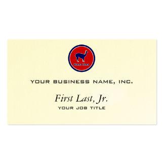 Obama Llama Business Card