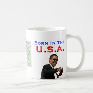 Obama: Llevado en los E.E.U.U. Taza Básica Blanca