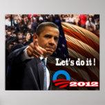 ¡Obama lo hace! Impresiones
