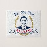 Obama lo hicimos sí otra vez el color V2 Puzzles