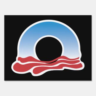 Obama Logo 2012 Yard Sign