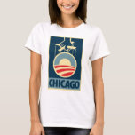 Obama Logo - Chicago: OHP Ladies Top