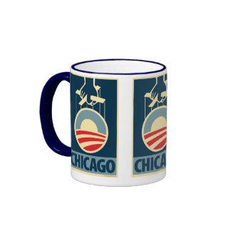Obama Logo - Chicago: OHP Mug