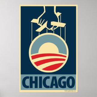 Obama Logo - Chicago: OHP Poster