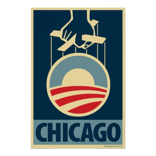 Obama Logo - Chicago: OHP Poster
