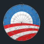"Obama Logo Dart board<br><div class=""desc"">Throw darts at it and release some tension!</div>"