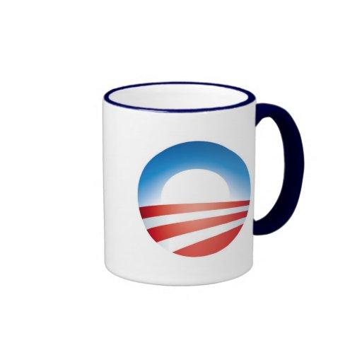 Obama Logo Ringer Mug