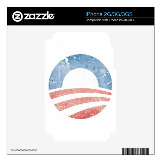 Obama Logo Decals For The iPhone 2G
