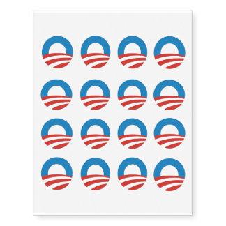 Obama Logo - Sm Temporary Tattoos