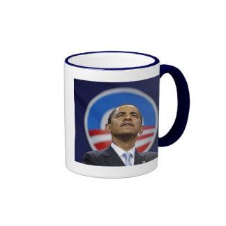 obama-logotipo taza a dos colores
