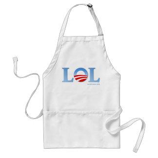 Obama LOL Adult Apron