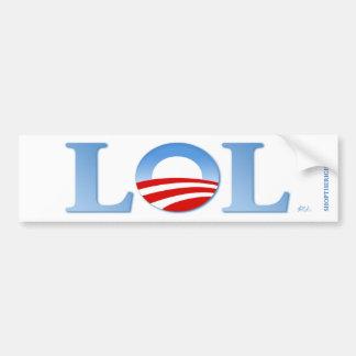 Obama LOL Pegatina Para Auto