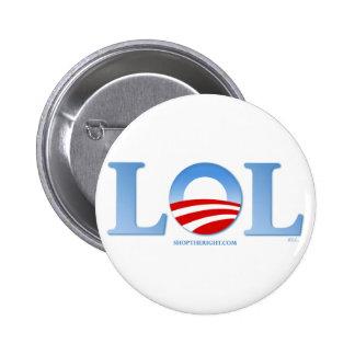 Obama LOL Pin Redondo 5 Cm