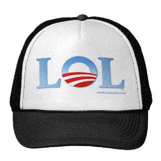 Obama LOL Trucker Hat