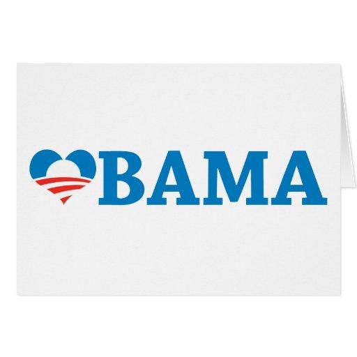 Obama Love Greeting Card
