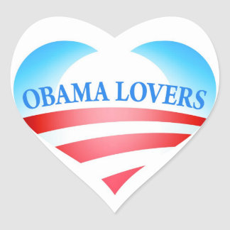 Obama Lovers Stickers