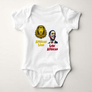 Obama Lyin' African/ African Lion Baby Bodysuit