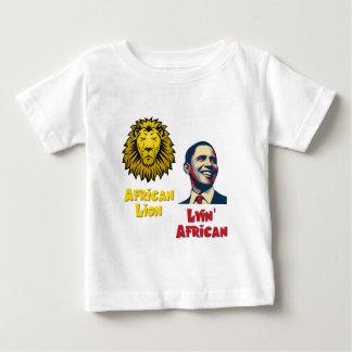 Obama Lyin' African/ African Lion Baby T-Shirt