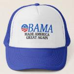 Obama Made America Great Again Trucker Hat