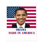 Obama Made in America Post Card