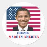 Obama Made in America Stickers