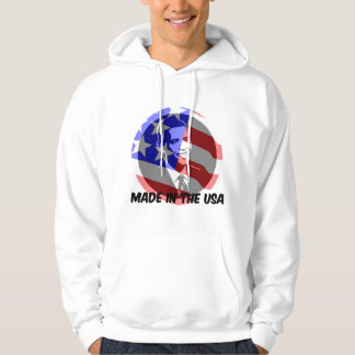 Obama made in the USA Hoodie