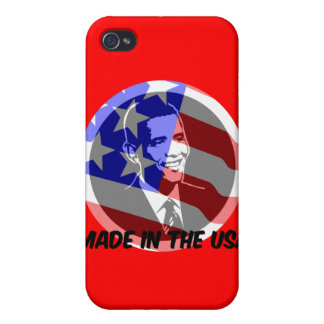 Obama made in the USA Cover For iPhone 4