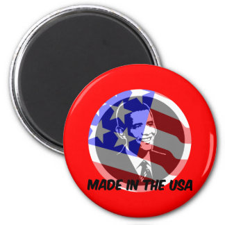 Obama made in the USA Magnet