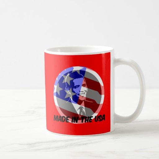 Obama made in the USA Mug