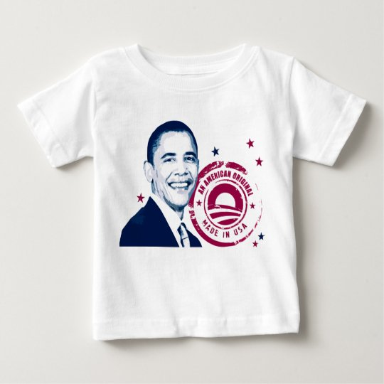 Obama - Made In USA Baby T-Shirt