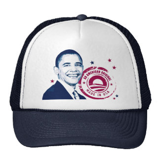 Obama - Made In USA Trucker Hat