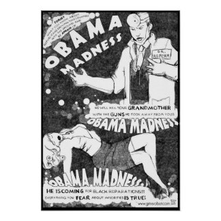 Obama Madness Poster